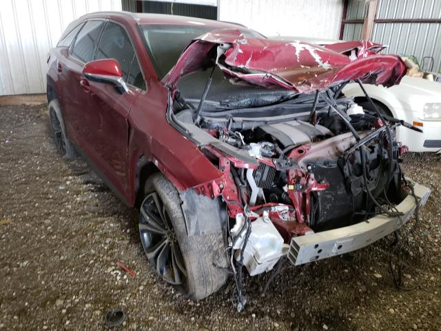 Salvage cars for sale from Copart Houston, TX: 2019 Lexus RX 350 L
