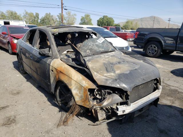 Salvage cars for sale from Copart Colton, CA: 2008 Audi A4 2.0T