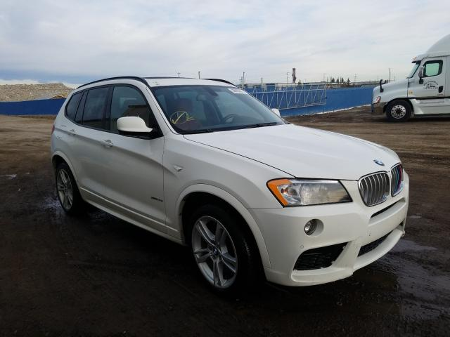 Salvage cars for sale from Copart Rocky View County, AB: 2014 BMW X3 XDRIVE3