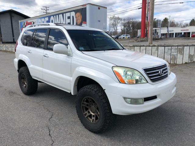 Lexus GX 470 salvage cars for sale: 2008 Lexus GX 470