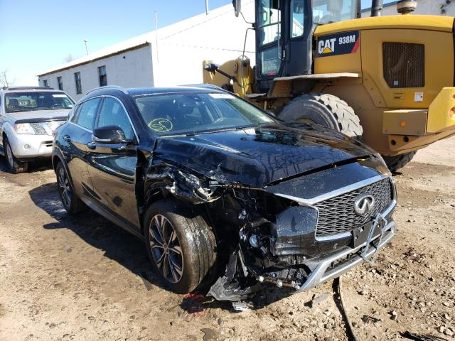 Salvage cars for sale from Copart Hillsborough, NJ: 2018 Infiniti QX30 Pure