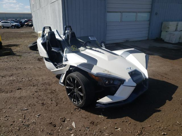 Salvage cars for sale from Copart Davison, MI: 2015 Polaris Slingshot