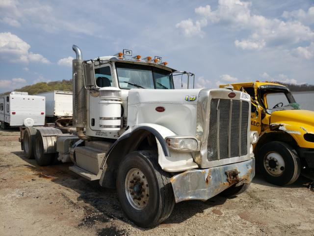 Salvage cars for sale from Copart Ellwood City, PA: 2012 Peterbilt 388