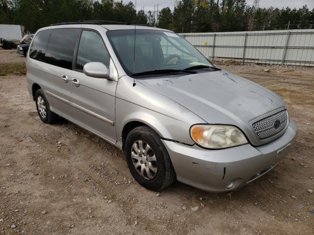 2005 KIA Sedona EX for sale in Charles City, VA