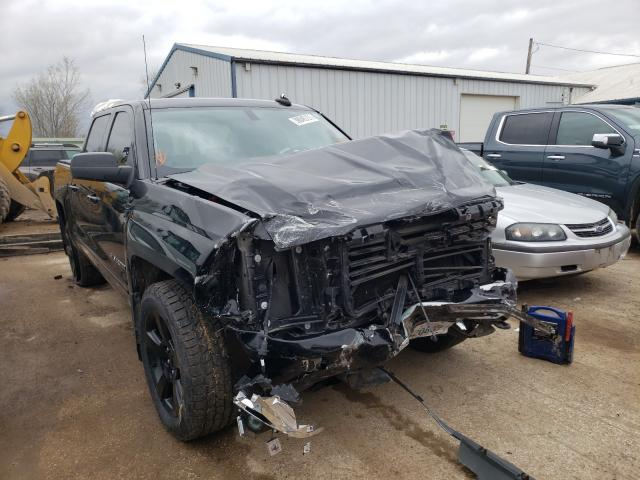 Salvage cars for sale from Copart Pekin, IL: 2017 Chevrolet Silverado