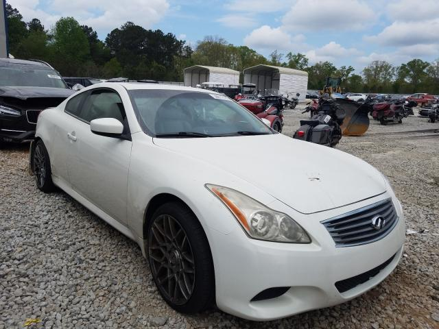 Salvage cars for sale from Copart Ellenwood, GA: 2009 Infiniti G37 Base