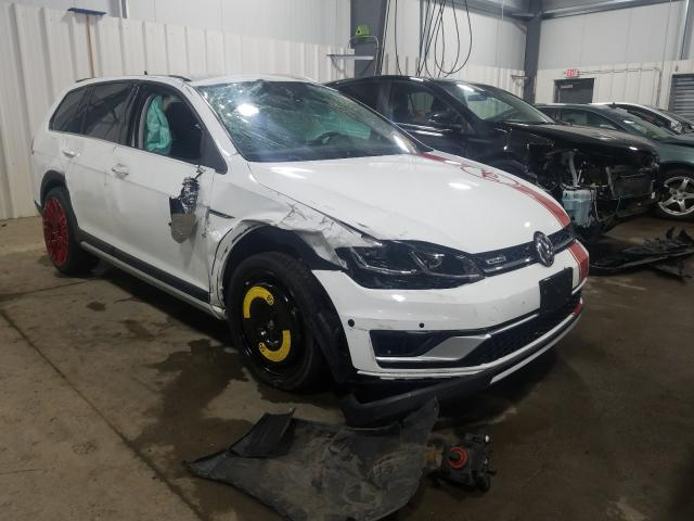 Salvage cars for sale from Copart Ham Lake, MN: 2019 Volkswagen Golf Alltr
