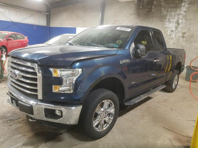 2016 FORD F150 SUPER 1FTEX1EP9GFC25022