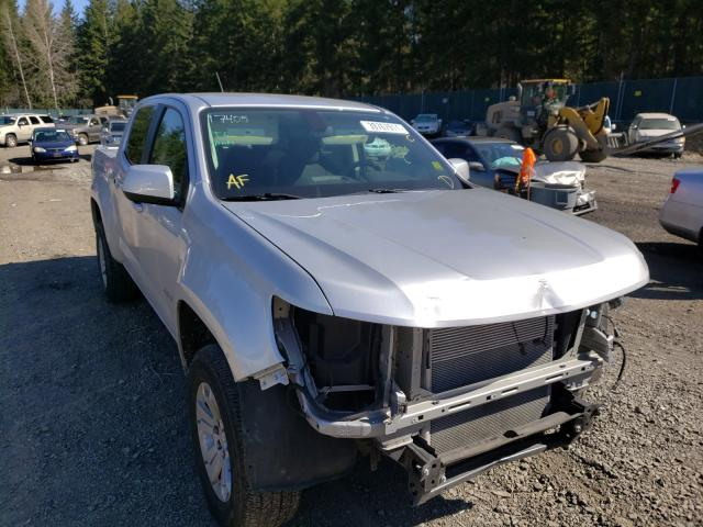 Salvage cars for sale from Copart Graham, WA: 2018 Chevrolet Colorado L