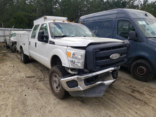 Salvage cars for sale from Copart Sandston, VA: 2012 Ford F350 Super