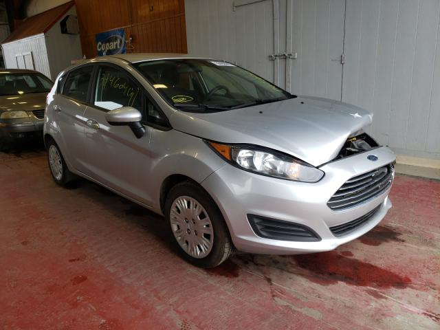 Salvage cars for sale from Copart Angola, NY: 2015 Ford Fiesta S