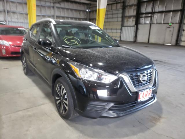 Salvage cars for sale from Copart Woodburn, OR: 2020 Nissan Kicks SV
