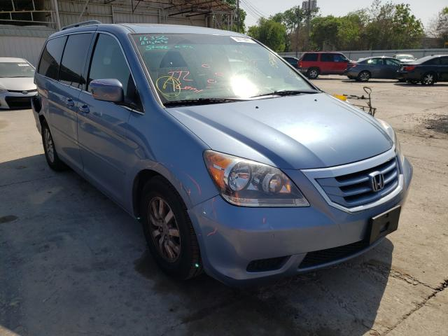 Salvage cars for sale from Copart Corpus Christi, TX: 2010 Honda Odyssey EX