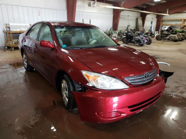 Salvage cars for sale from Copart Lansing, MI: 2004 Toyota Camry LE