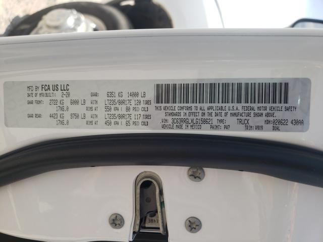 2020 RAM 3500 TRADE 3C63RRGLXLG158621