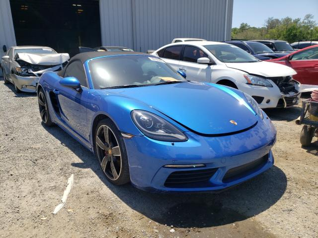 Porsche salvage cars for sale: 2017 Porsche Boxster S