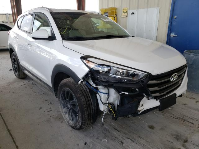 Salvage cars for sale from Copart Homestead, FL: 2017 Hyundai Tucson Limited