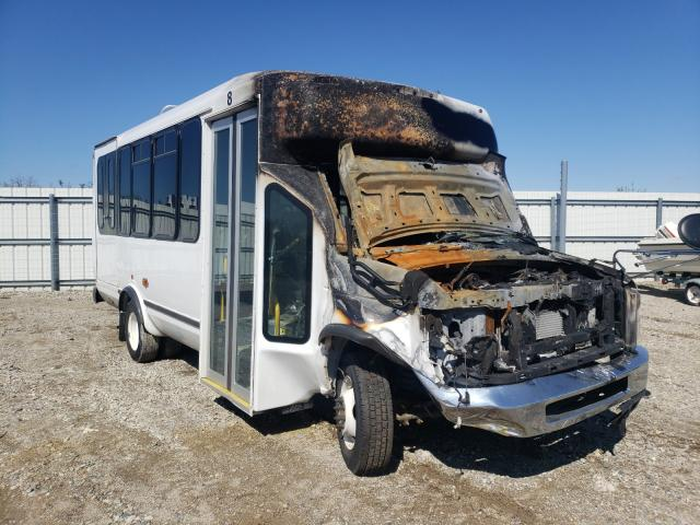 Salvage cars for sale from Copart Lansing, MI: 2018 Ford Econoline
