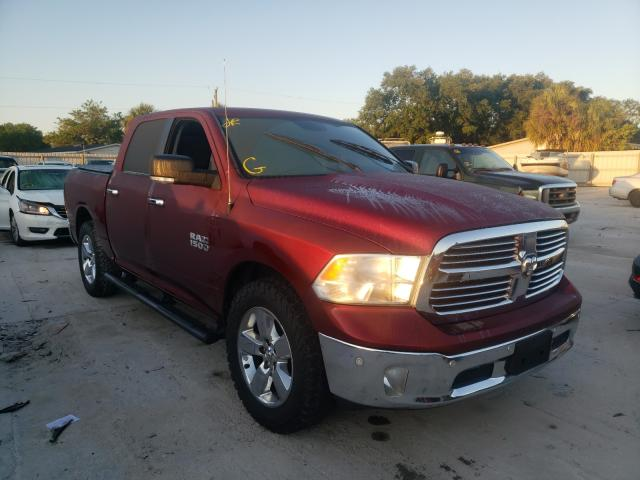 Salvage cars for sale from Copart Punta Gorda, FL: 2017 Dodge RAM 1500 SLT