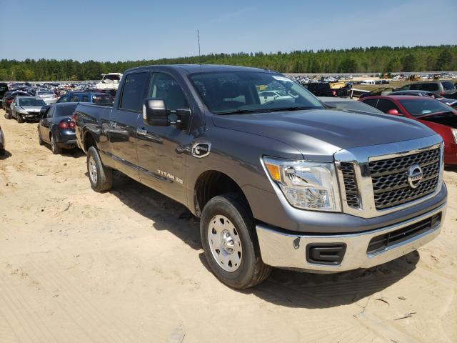 Salvage cars for sale from Copart Gaston, SC: 2017 Nissan Titan XD S