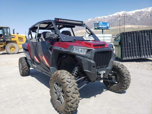 Salvage cars for sale from Copart Farr West, UT: 2018 Polaris RZR XP 4 T