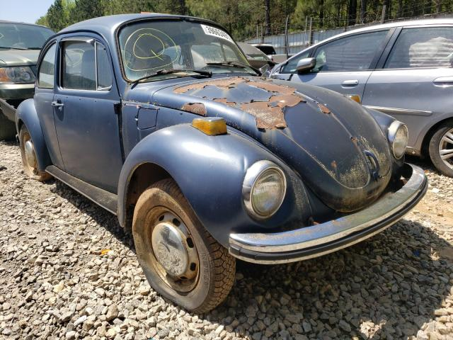 Salvage cars for sale from Copart Gainesville, GA: 1968 Volkswagen Beetle