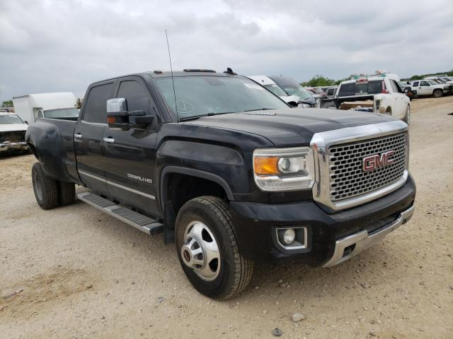 Salvage cars for sale from Copart San Antonio, TX: 2016 GMC Sierra K35