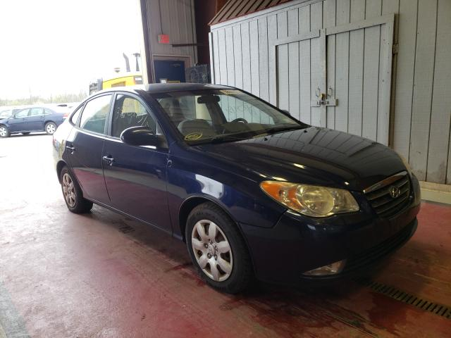 Salvage cars for sale from Copart Angola, NY: 2008 Hyundai Accent BLU