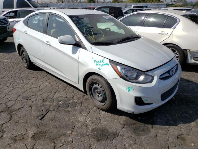 Salvage cars for sale from Copart Colton, CA: 2014 Hyundai Accent GLS