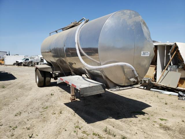 Salvage cars for sale from Copart Fresno, CA: 1983 West Tanker