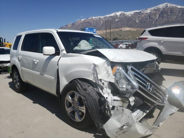 Salvage cars for sale from Copart Farr West, UT: 2014 Honda Pilot EXL