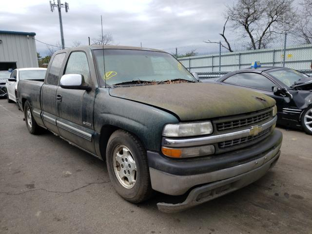 Salvage cars for sale from Copart Brookhaven, NY: 2001 Chevrolet Silverado