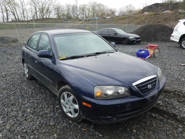 Hyundai Elantra salvage cars for sale: 2005 Hyundai Elantra
