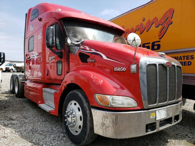 Peterbilt 387 salvage cars for sale: 2009 Peterbilt 387
