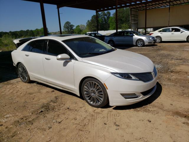 Salvage cars for sale from Copart Fairburn, GA: 2014 Lincoln MKZ Hybrid