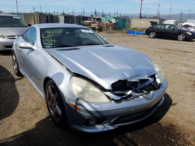Salvage cars for sale from Copart San Martin, CA: 2006 Mercedes-Benz SLK 280
