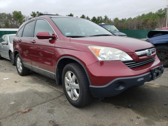Salvage cars for sale from Copart Exeter, RI: 2009 Honda CR-V EXL