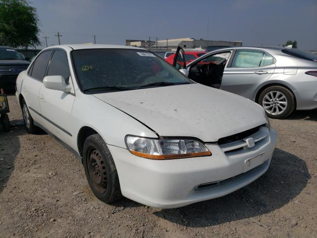 Salvage cars for sale from Copart Mercedes, TX: 2000 Honda Accord LX