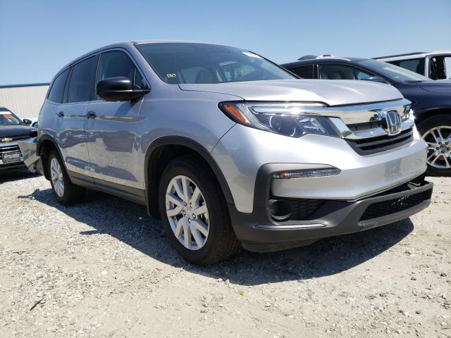 Salvage cars for sale from Copart Spartanburg, SC: 2019 Honda Pilot LX