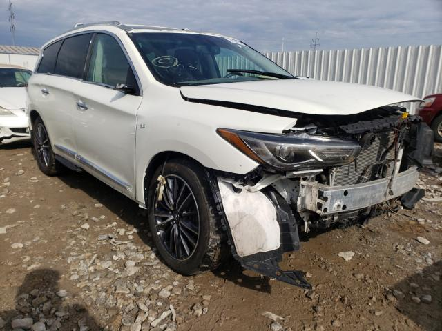 Salvage cars for sale from Copart Columbus, OH: 2019 Infiniti QX60 Luxe