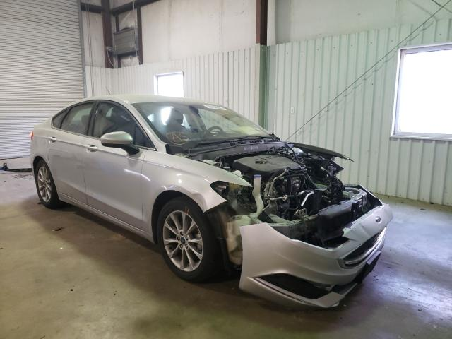 Salvage cars for sale from Copart Lufkin, TX: 2017 Ford Fusion SE
