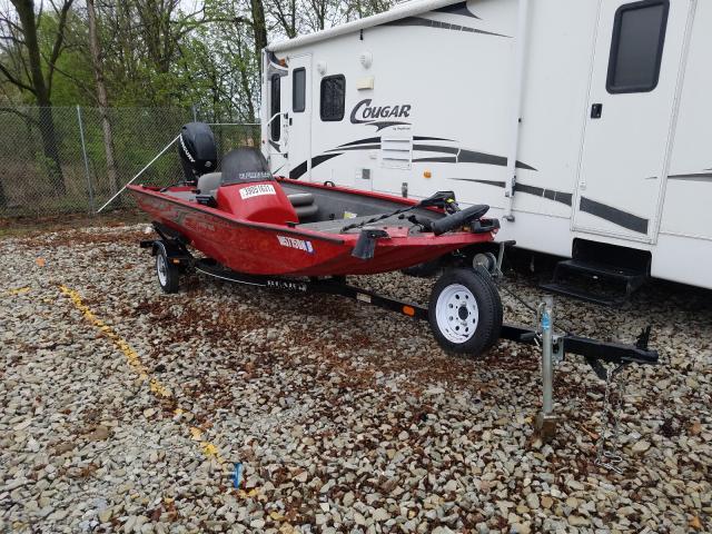 Alumacraft salvage cars for sale: 2012 Alumacraft Boat