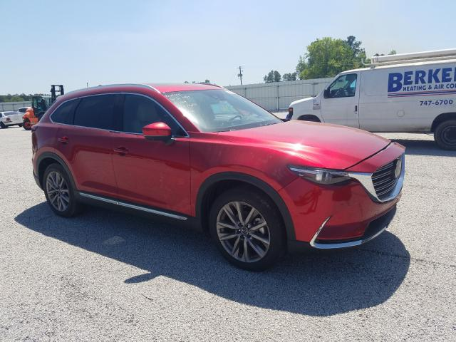 Salvage cars for sale at Harleyville, SC auction: 2021 Mazda CX-9 Grand Touring