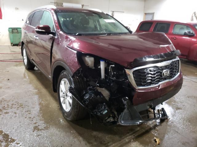 KIA Vehiculos salvage en venta: 2019 KIA Sorento LX