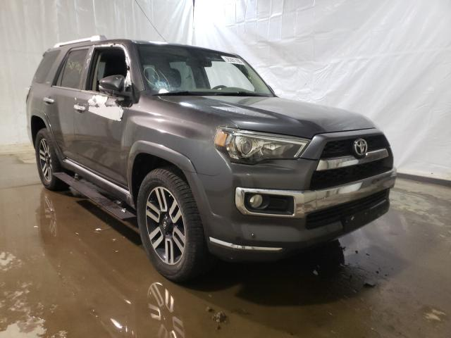 Salvage cars for sale at Central Square, NY auction: 2016 Toyota 4runner SR