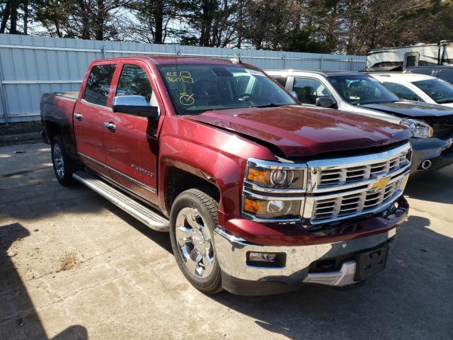 Salvage cars for sale from Copart Eldridge, IA: 2015 Chevrolet Silverado