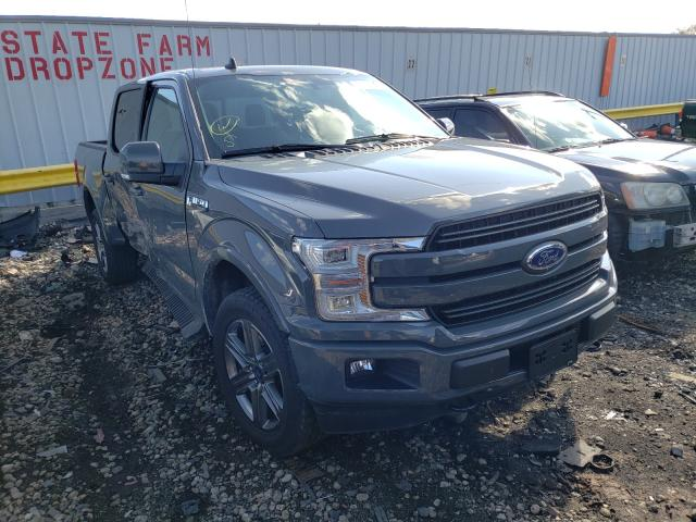 Salvage cars for sale from Copart Cudahy, WI: 2020 Ford F150 Super