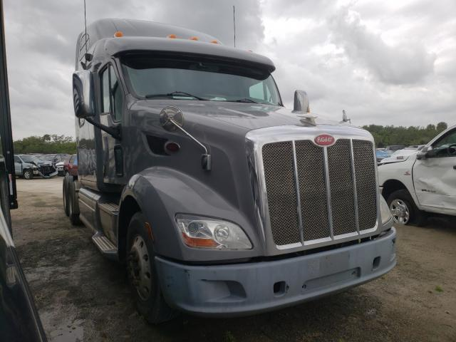 Salvage cars for sale from Copart Fort Pierce, FL: 2013 Peterbilt TR