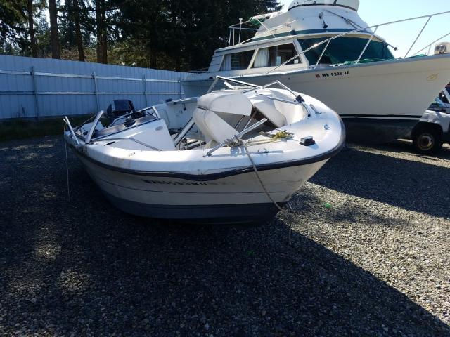 Bayliner salvage cars for sale: 1992 Bayliner Boat Trail