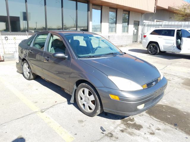 Salvage cars for sale from Copart Fort Wayne, IN: 2002 Ford Focus ZTS